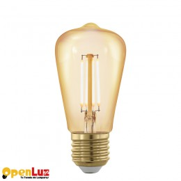 Bombilla Amber 11695, E27-Led St48 4W Amber 1700K 11695