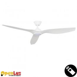 Delfos 83091301, Ventilador 15w Blanco Delfos 3 Aspas Abs blanco