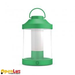 Abella 1736033P0, Portatil exterior Sintetico LED 3W Abella Verde 1736033P0